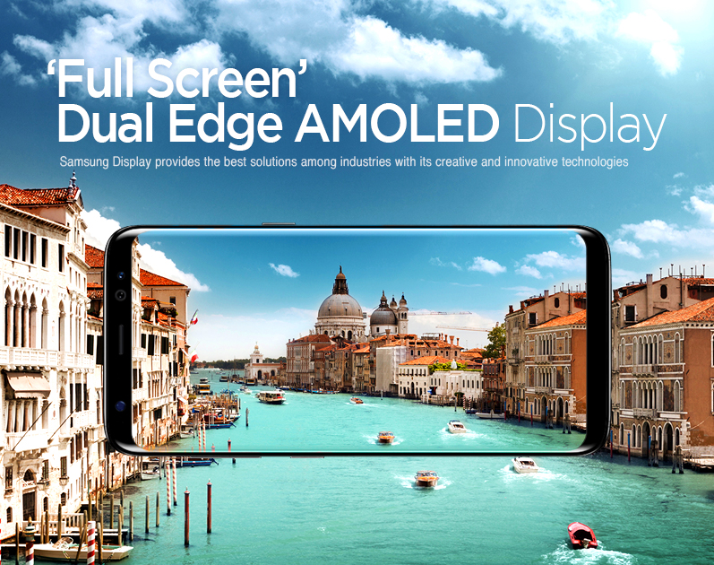 Curved Egde Display