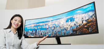 Highly Successful with Gamers, Samsung Display Curved Monitor Panels Now Expanding into B2B Market
