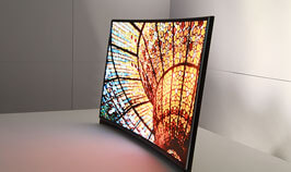Developed 55-inch TV AMOLED for the first time in the world